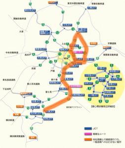 首都高路線図